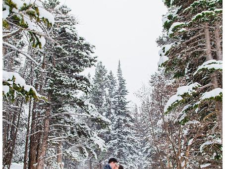 WINTER WONDERLAND ROCKY MOUNTAIN COLORADO ENGAGEMENT - DESTINATION PHOTOGRAPHER
