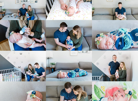 In-Home Newborn Session - Green Bay Family Photographer