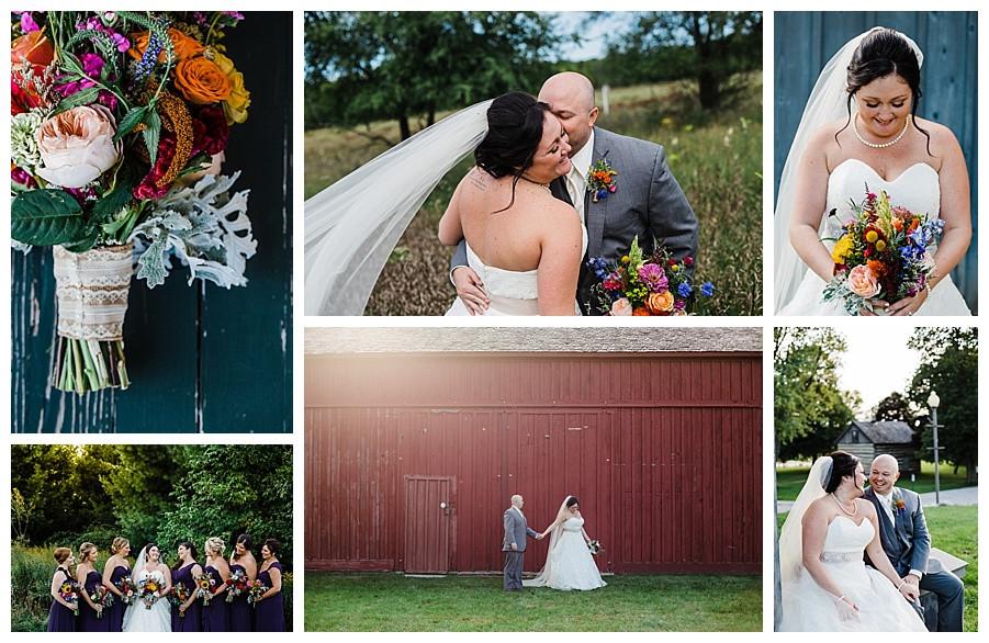 fall wedding details sheboygan wedding photographer