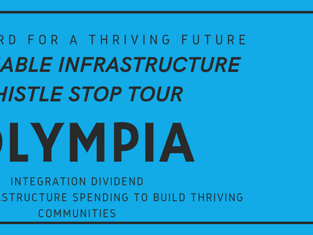 CSI Next Sustainable Infrastructure Whistle Stop: Olympia, Washington on December 8.