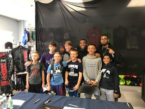 OLYMPIC GOLD MEDALIST JORDAN BURROUGHS TRAINS WITH RANDOLPH WRESTLERS