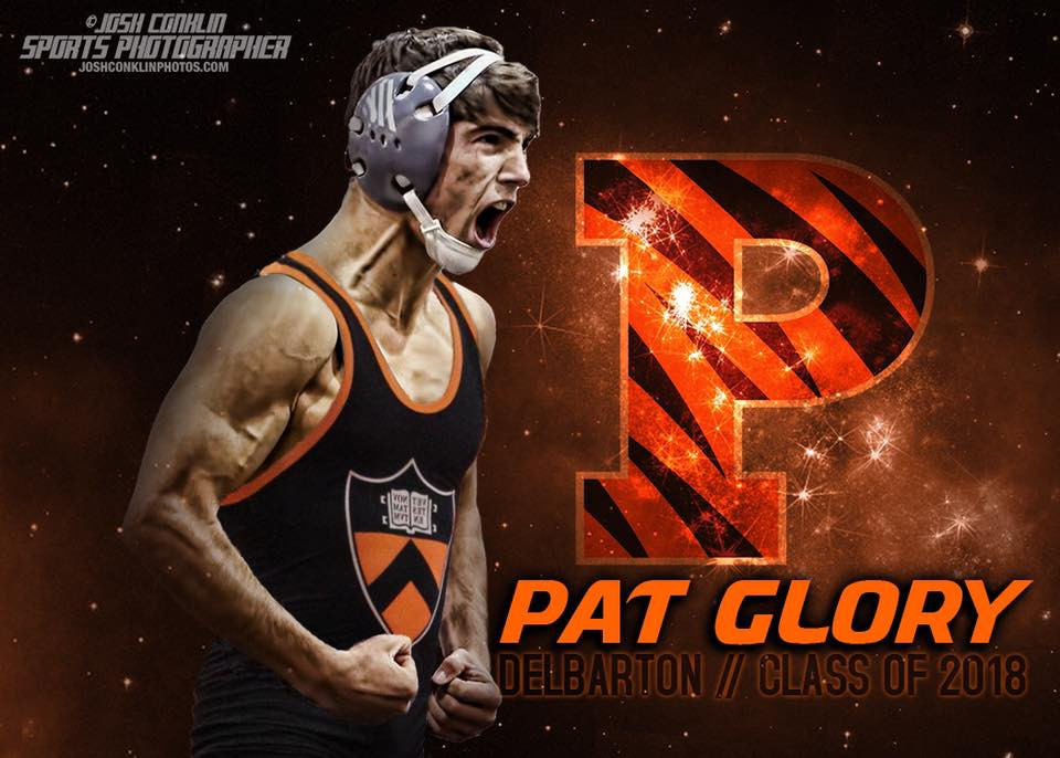 Nationally Ranked #3 Pat Glory made his college decision this afternoon to attend Princeton University at the Who's #1 press conference.