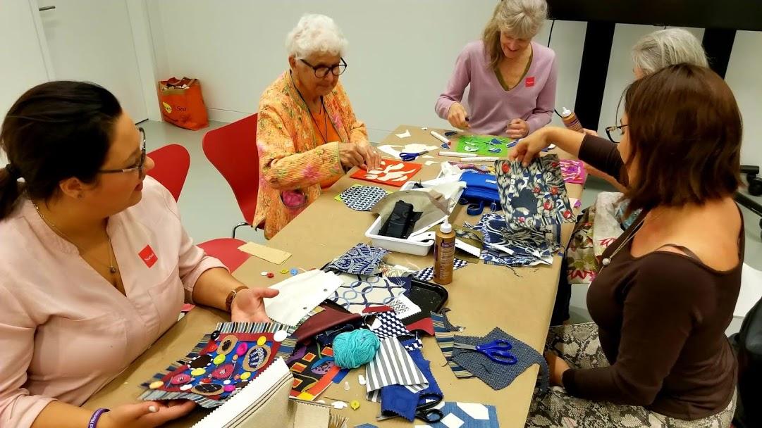 Norton Museum Mixed Textiles Class