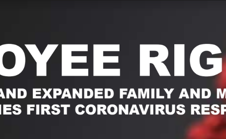 Families First Corona Virus Response Act (FFCRA or Act)