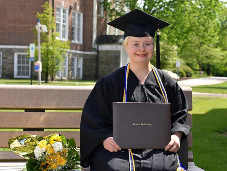 Inspiration Corner: Woman Is First Person With Down Syndrome To Graduate From Rowan University