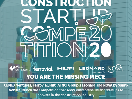 Construction Startup Competition 2020 - CEMEX Ventures