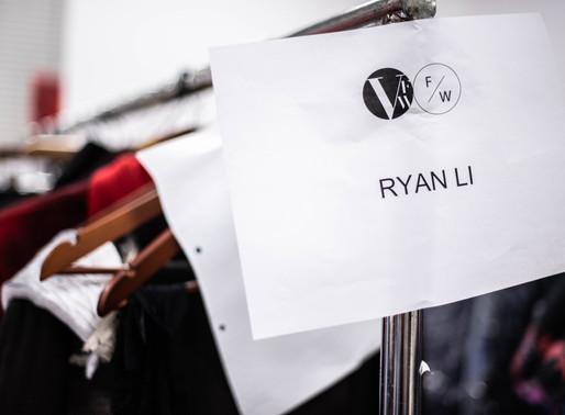 Backstage for Fashion Designer Ryan Li