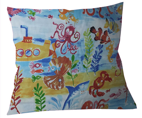 Under The Sea Cushion Cover
