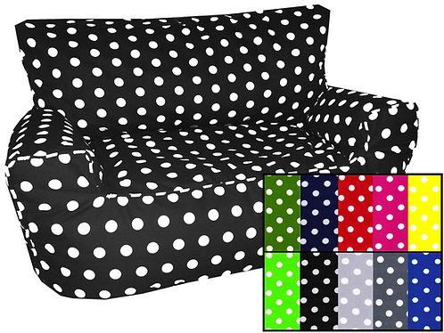 Polka Dot Spots Bean Bag Sofa