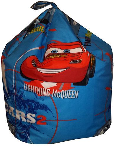 Toddler Disney Cars Bean Bag - Lightning McQueen