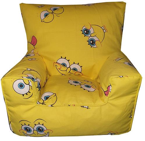 Sponge Bob Children's Bean Bag Chair - Yellow