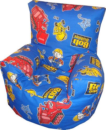 Bob The Builder Bean bag Chair Children's Kids