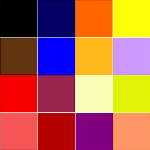 Bean Bag Footstool - Plain Colours