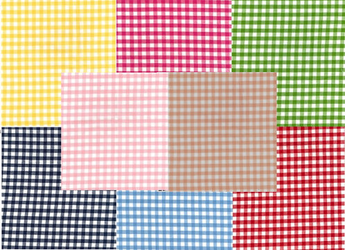 Fabric By The Metre: Gingham