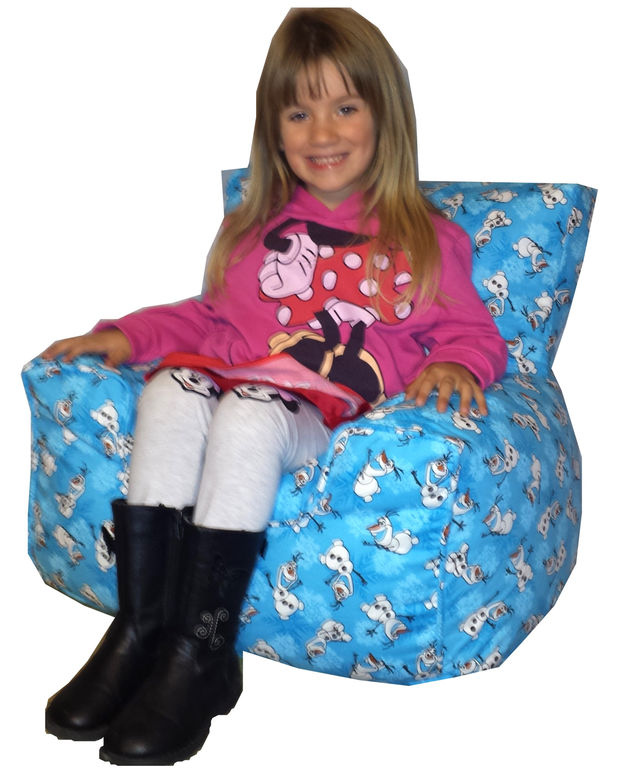 Disney S Frozen Bean Bag Chair Olaf Warm Hugs Comfycreations