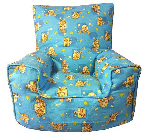 Winnie the Pooh Tigger Children's Bean Bag Chair - Fleece