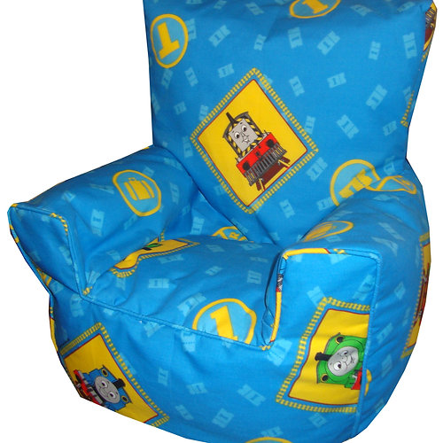 thomas the tank engine bean bag chair kids light blue