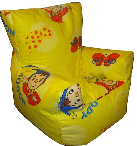 Noddy Bean Bag Chair Children's Kids Yellow