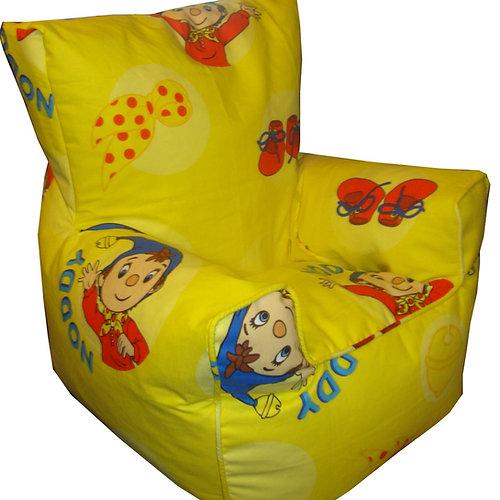 noddy bean bag chair kids yellow