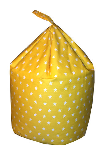 Stars Bean Bag (Children's,Kids,Toddler) Yellow