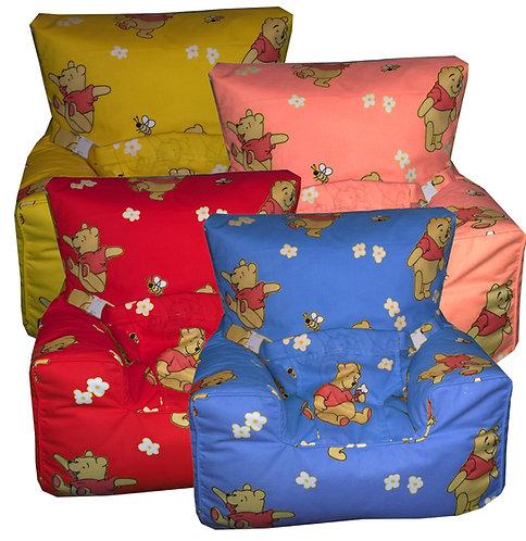 Winnie the Pooh Bear Baby Bean Bag Harness Chair