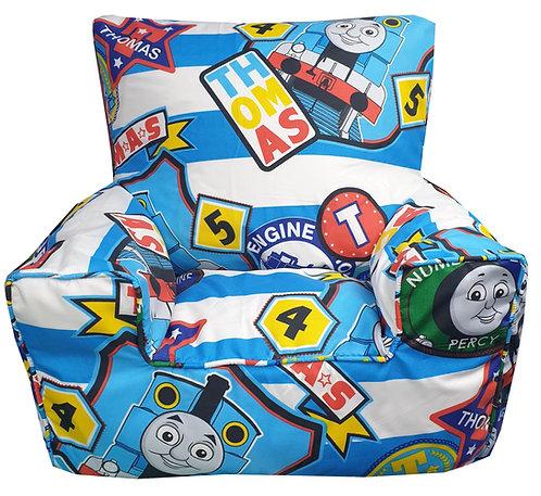 Thomas The Tank Engine Bean Bag Chair - Blue