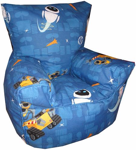 WALL-E Bean Bag Chair Children's Kids Blue