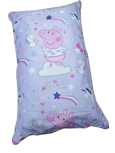 Peppa Pig Sleepy Unicorn Bean Bag Floor Cushions Side-A
