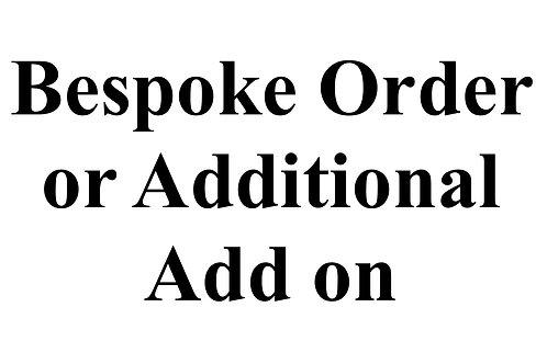 Bespoke Order - Custom Curtains