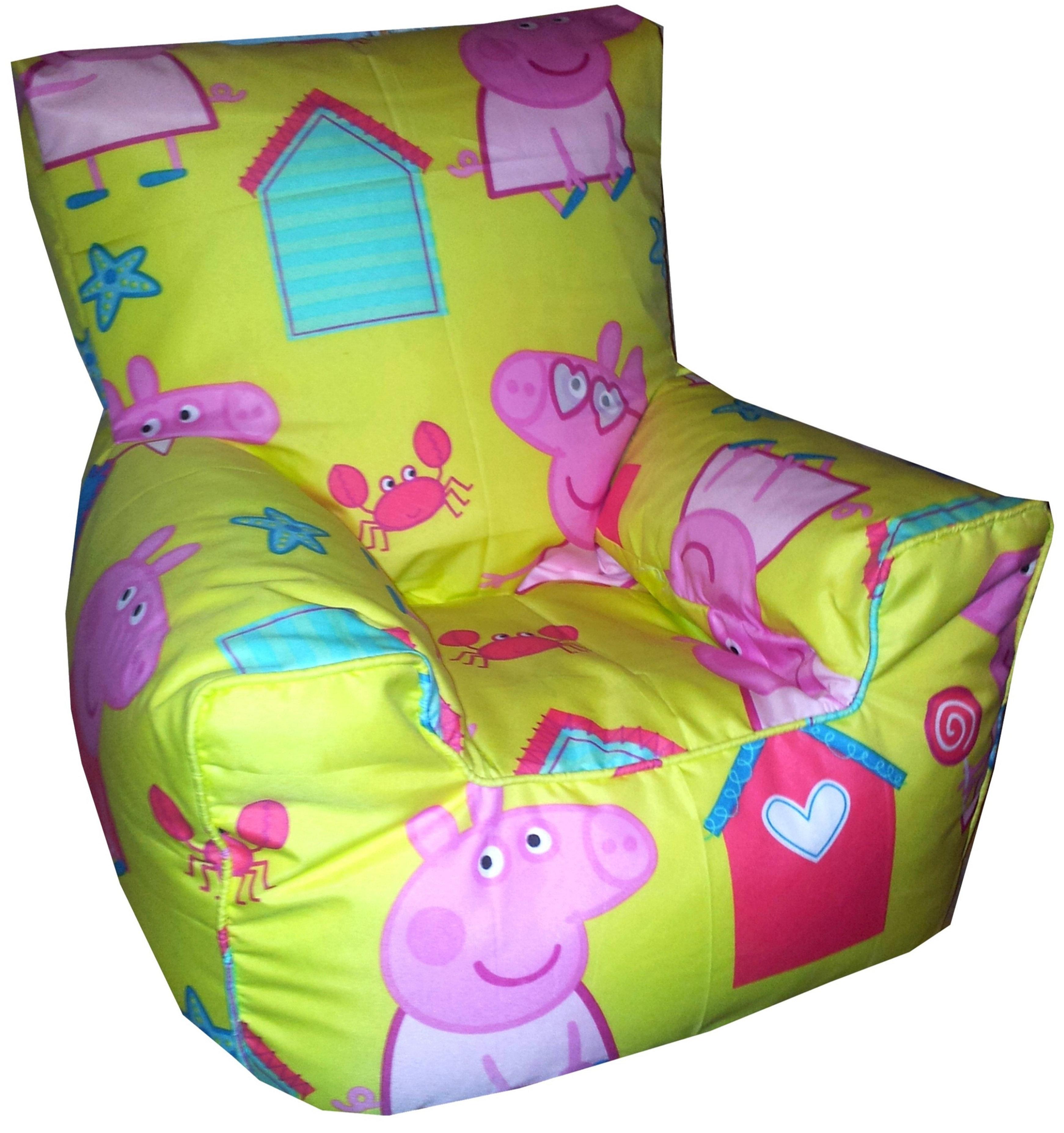 Peppa Pig Seaside Bean Bag Chair (Children's Kids Toddler)