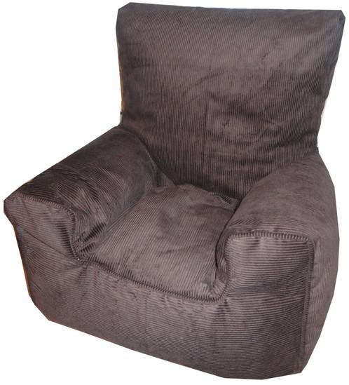 Corduroy Bean Bag Chair Childrens Kids Brown