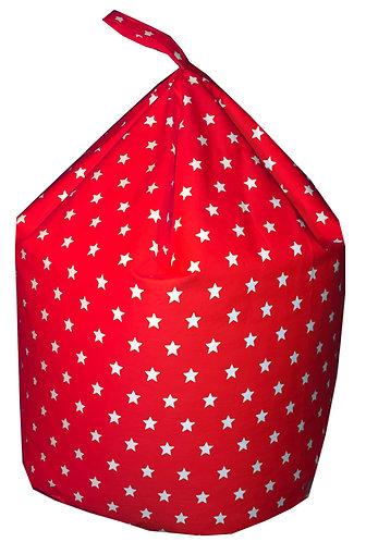Stars Bean Bag - Red