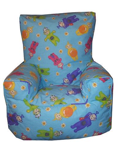 Teletubbies Bean Bag Chair Toddler, Kids - Turquoise