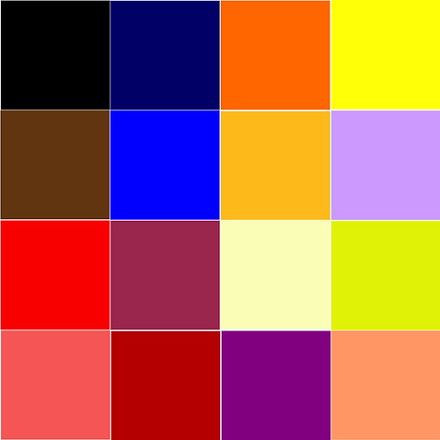 Children's Bean Bag - Plain Colours