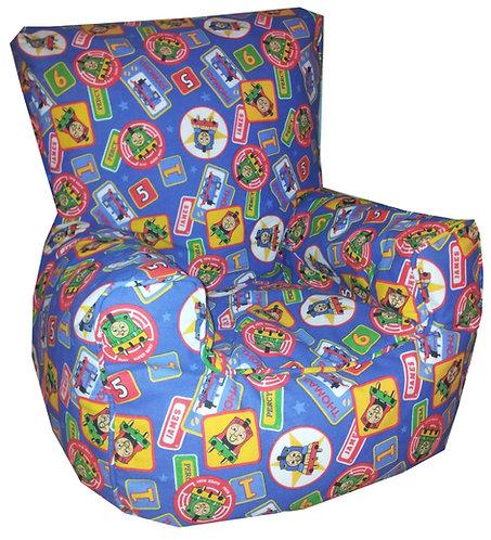 Thomas The Tank Children's Bean Bag Chair (Blue)
