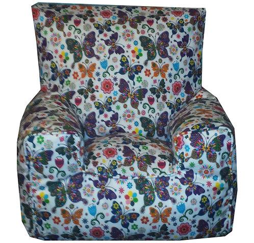 Butterfly Bean Bag Chair Children's Kids