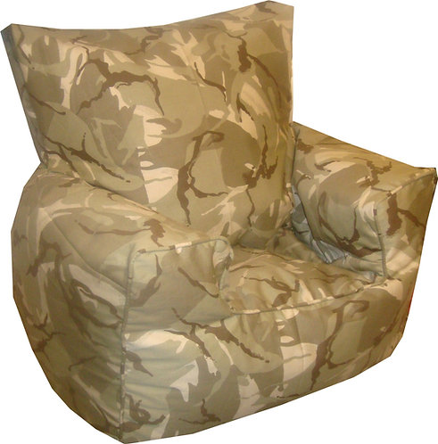 Camouflage Bean Bag Chair Desert