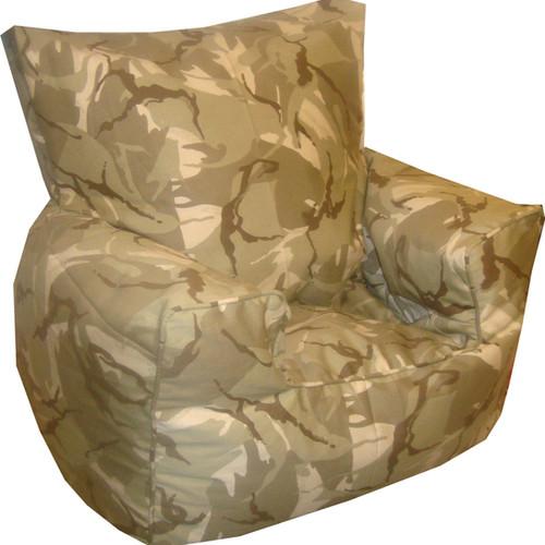 Camouflage Bean Bag Chair Desert ...