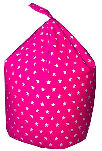 Stars Bean Bag (Children's,Kids,Toddler) Pink