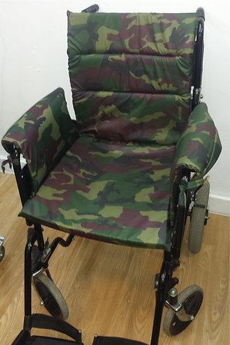 Kids Wheelchair Cushion (seat,back,arms) Memory Foam