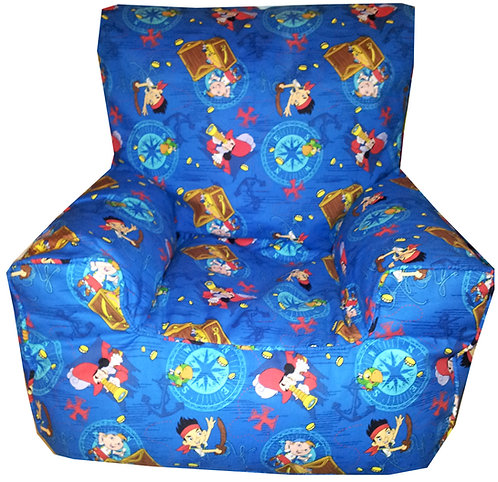 Jake And The Neverland Pirates Bean Bag Chair