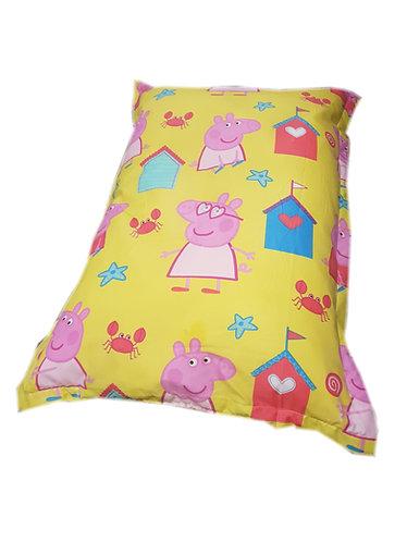 Peppa Pig Bean Bag Floor Cushion - Seaside Yellow