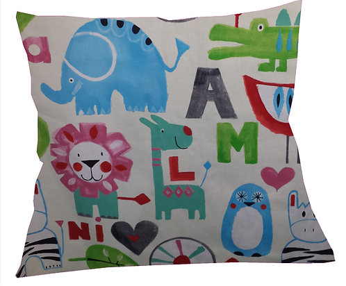 Animals Light Cushion Cover