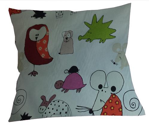 Olly the Owl Cushion Cover