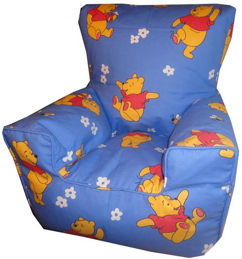 Winnie The Pooh Bean Bag Chair Blue