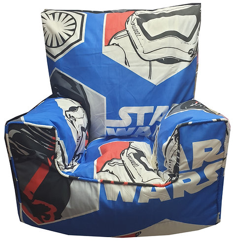 Star Wars Stormtrooper Bean Bag Chair - Blue