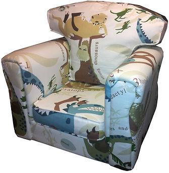 Kids Dinosaur Arm Chair