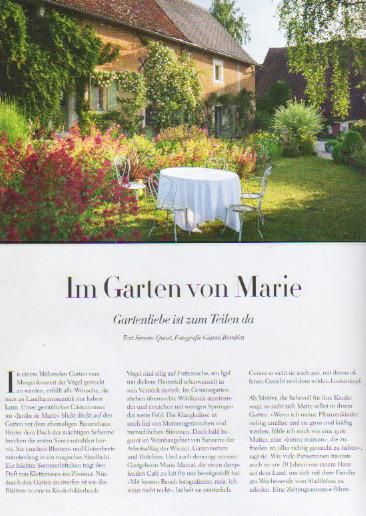 Im Garden von Marie