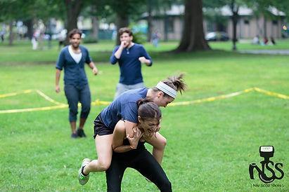 Stage Combat on Boston Common, A Midsumm