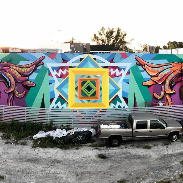 With the So-Gnar Creative Division for Wynwood Walls 2018